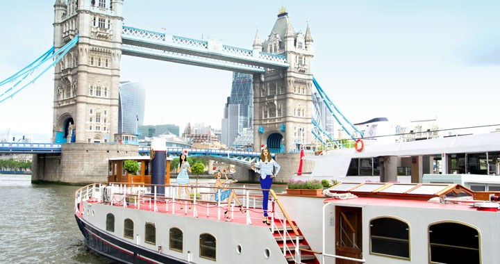Thames Cruise Afternoon Tea London