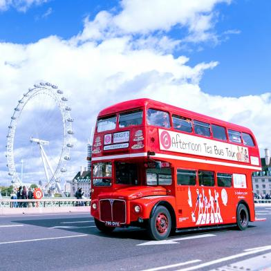 Classic Afternoon Tea Bus London
